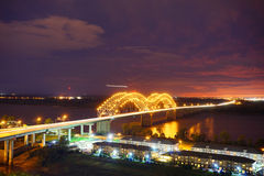 Mississippi night Stock Photo