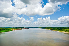 Mississippi River Royalty Free Stock Photo