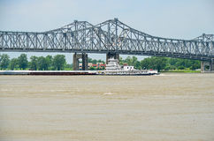 Mississippi River Boat Royalty Free Stock Photo