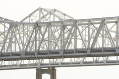 Mississippi River Bridge at New Orleans, Louisiana Stock Photos