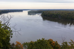 Mississippi River at Hannibal, Missouri Royalty Free Stock Photography