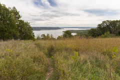 Mississippi River Lake Pepin. Lake Pepin on the Mississippi River during early autumn Royalty Free Stock Photo