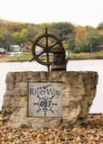 Mississippi River Landmark Stock Images