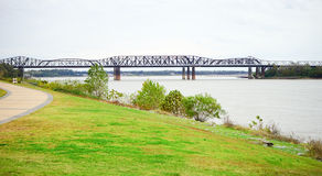 Mississippi river at Memphis Royalty Free Stock Images