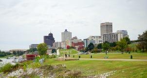 Mississippi river park Stock Image