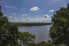 The Mississippi River stock images