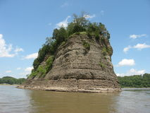 Mississippi River Scenery Stock Photography