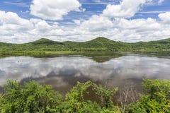 Mississippi River Scenic Stock Image