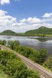Mississippi River Scenic Stock Photos