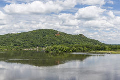 Mississippi River Scenic Royalty Free Stock Photography