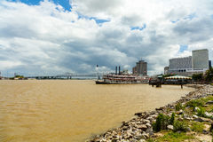 Mississippi River Skyline Stock Images