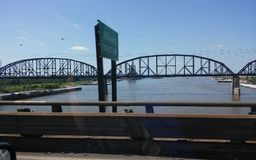 Mississippi river Stock Photography