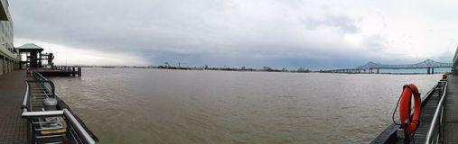 Mississippi. River water New Orleans Stock Image