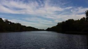 Mississippi River Wisconsin Arkivbilder