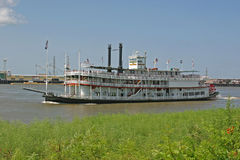 mississippi riverboat Royaltyfri Bild