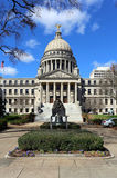 Mississippi State Capitol Building Stock Photo