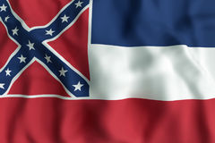 Mississippi State flag Stock Photography