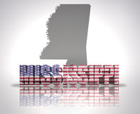 Mississippi State Royalty Free Stock Photo