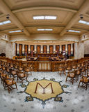 Mississippi Supreme court chamber Royalty Free Stock Photography
