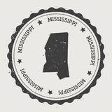 Mississippi vector sticker. Stock Photo