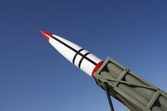 Missle and Launch Platform Stock Images