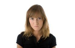 missnöjd kvinna Fotografering för Bildbyråer