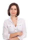 missnöjd kvinna Royaltyfri Fotografi