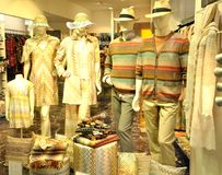 Missoni high fashion store in Italy Stock Photo