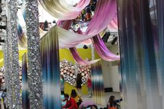 Missoni shop during the Milanese Fuorisalone 2014 Royalty Free Stock Image