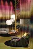 Missoni stand during the 2014 Furniture fair in Milan Stock Photos