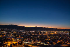 Missoula Montana photographie stock