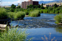 Missoula, Montana stockfotos