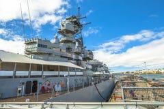 Missouri Battleship memorial Royalty Free Stock Photography