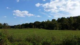 Missouri field. An empty field Stock Photography