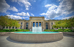 Missouri historiemuseum royaltyfria bilder