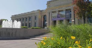 Missouri historii muzeum w lasu parku zbiory wideo