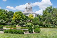 Missouri huvudstadbyggnad fotografering för bildbyråer
