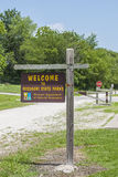 Missouri Katy trail Royalty Free Stock Photo