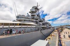 Missouri-Kriegsschiffe BB-63 Stockfotografie