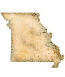 Missouri Map Stock Photo