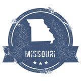 Missouri mark. Royalty Free Stock Photo