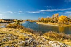 Missouri-Oberlauf-Park Stockbild