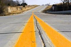 Missouri Roadway Royalty Free Stock Photography
