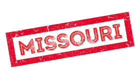 Missouri rubber stamp Royalty Free Stock Photography