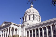 Missouri State Capitol Royalty Free Stock Photos