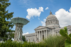 Missouri State Capitol Building Royalty Free Stock Photos