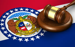 Missouri State Law Legal System Concept Royalty Free Stock Photography