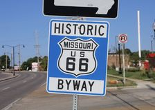 Missouri US 66 Byway Royalty Free Stock Photo