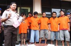 Misstänkt för drogåterförsäljare Royaltyfria Bilder