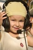 Missy cerca escucha Imagen de archivo